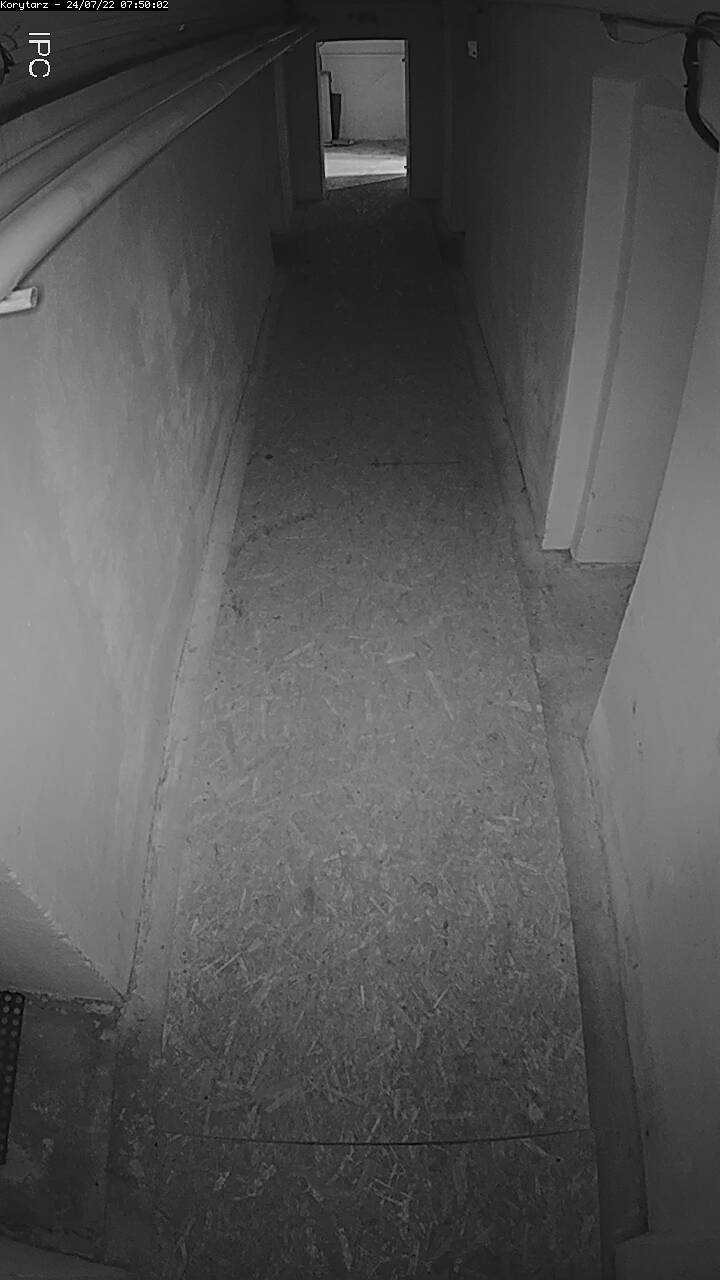 View from corridor camera